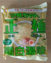 マルちゃん正麺鶏白湯味