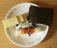 チーズ ちくわ 海苔